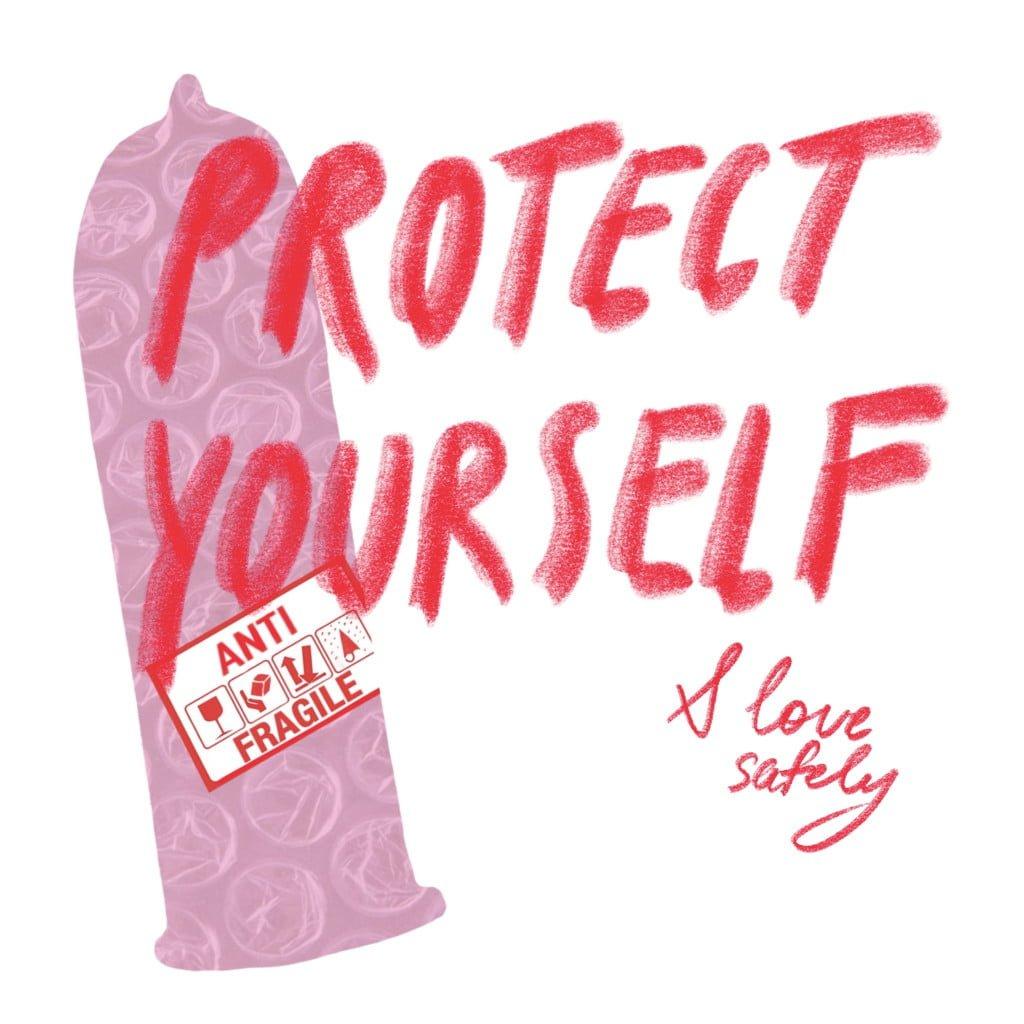 презерватив защитит от венерических болезней и от нежелательной беременности